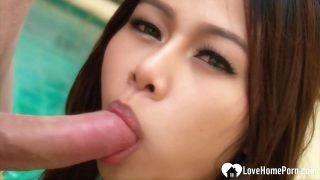 หนังโป๊ไทย พริตตี้สาวไทยหุ่นเด็ดขั้นเทพรับงานโดนฝรั่งนักเที่ยวควยโครตใหญ่หิ้วไปเย็ดหีทีบ้านพักลีลาอยางเด็ด