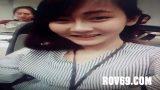 สาวออฟฟิศเสื้อแดงโดนแฟนหนุ่มเงี่ยนจัดแอบพาเข้าไปเย็ดกันในห้องเก็บของเสียงไทยชัดเจน