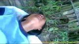 คลิปหลุดเด็กไทยวัยมันส์ตัวเล็กๆหีฟิตสุดๆแอบนัดแฟนหนุ่มไปเย็ดกันในป่าโดนเย็ดสดแตกใน