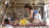 คลิปหลุดสาวไทยหุ่นอวบๆบ้ากามสุดๆแอบลักหลับแฟนหนุ่มจับถอนกาเกงดูดควยแล้วขึ้นไปนั่นขย่ม